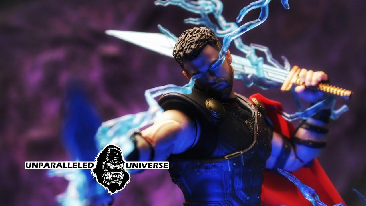 "NEW Mezco Toys One 12 Collective Marvel Thor Ragnarok 6/"" Action Figure"