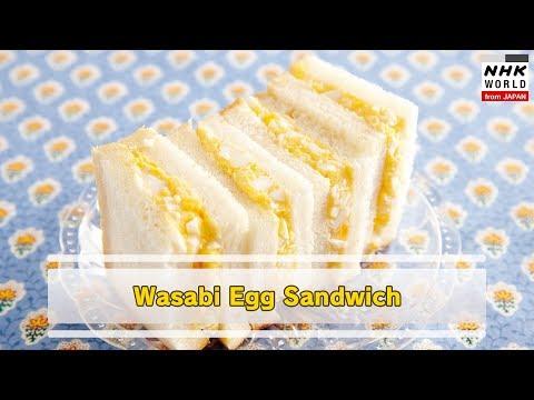 JAPANESE FOOD:Wasabi Egg Sandwich