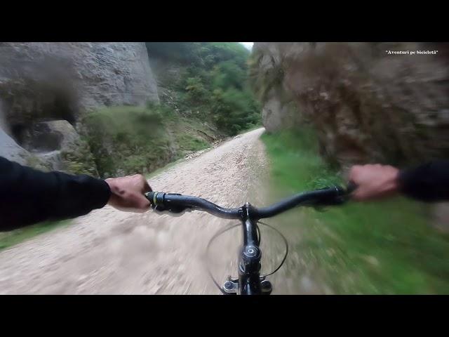 Aventuri pe bicicleta : Coborare Cheile Zarnestilor