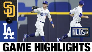 Cody Bellinger, Dodgers hang on for Game 2 win | Padres-Dodgers NLDS Game 2 Highlights