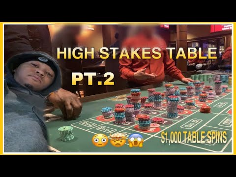 Live Roulette High Stakes $1000 Table Spins PT2! BIG HITS