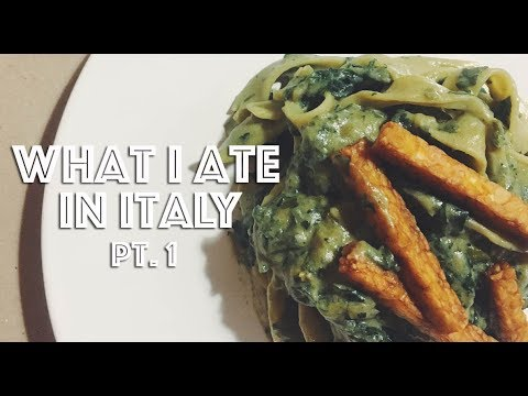 WHAT I ATE IN ITALY (VEGAN) PT.1