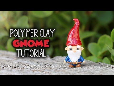 Garden Gnome│Polymer Clay Tutorial