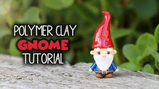 Garden Gnome│Polymer Clay Tutorial