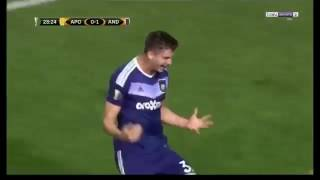 Video Gol Pertandingan APOEL vs Anderlecht