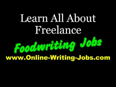 My Freelance Career : All About Freelance Food Writing Jobs