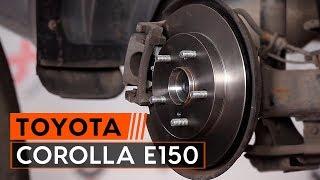 Videoveiledning for nybegynnere med de vanligste Toyota Corolla Verso-reparasjonene