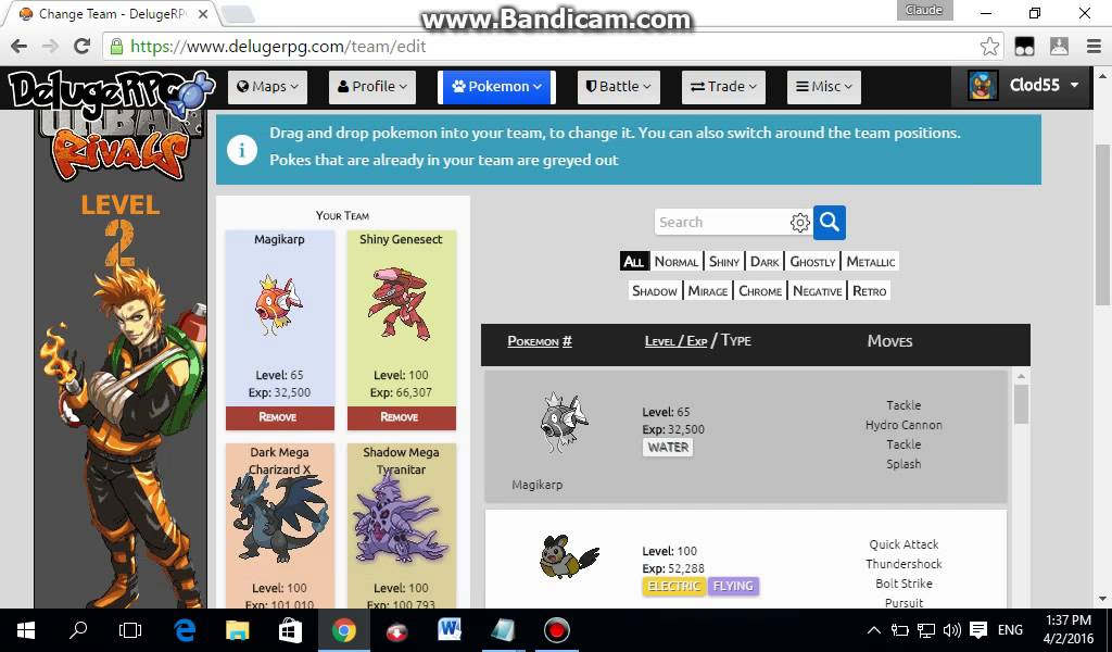 How to Level up your Pokemon Fast - Pokemon Deluge RPG