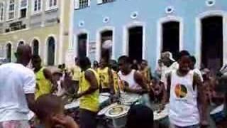 Banda tocando en Pelourinho - Pacote do Pelo