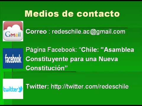 "La Actual ""Constitución"" De Chile Equivale A ..."