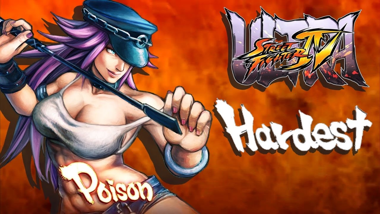 Ultra Street Fighter IV - Poison Arcade Mode (HARDEST)