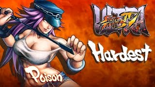 Ultra Street Fighter IV - Poison Arcade Mode (HARDEST)