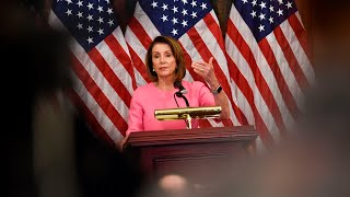 Pelosi lauds health care, House and governorships as Democratic victories