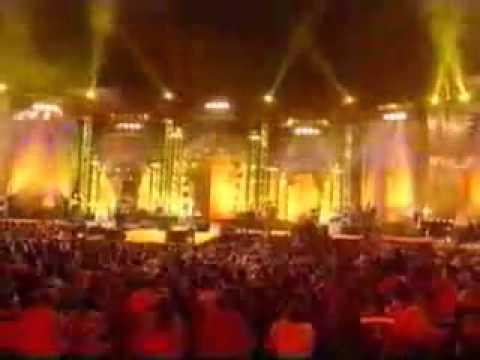 """cheb khaled à agadir 2007 Concert pour la Tolerance""""sahra"""""""