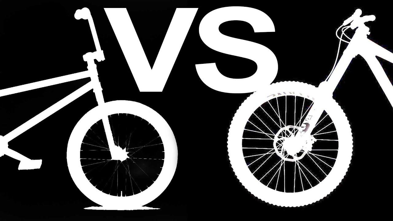 BMX vs. Mountain Bike