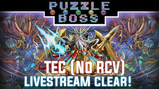 True Endless Corridors (No RCV) - Livestream Clear! - Puzzle and Dragons - パズドラ