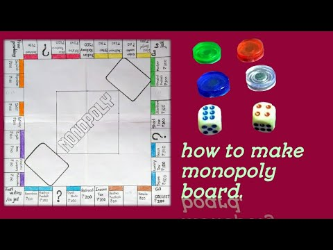 How to make monopoly board Indian style at home
