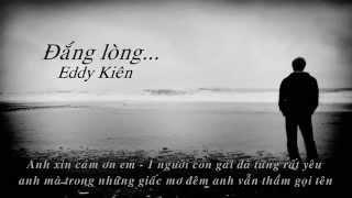 Đắng lòng - Eddy Kiên [HD Lyrics]