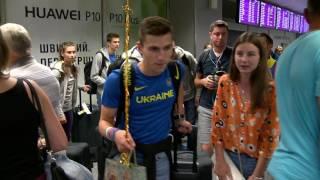 Сборная Украины по легкой атлетике вернулась с юношеского ЧМ U-18