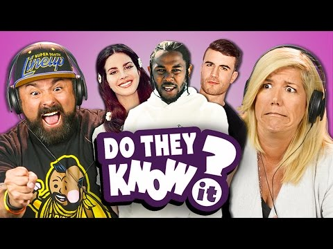 Thumbnail: DO PARENTS KNOW MODERN MUSIC? #5 (REACT: Do They Know It?)
