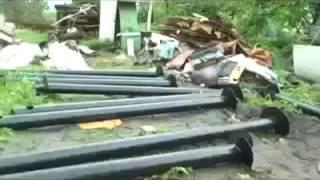 видео винтовые сваи в перми