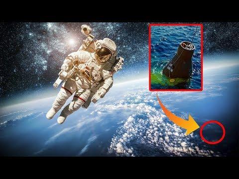 Космонавт в течение