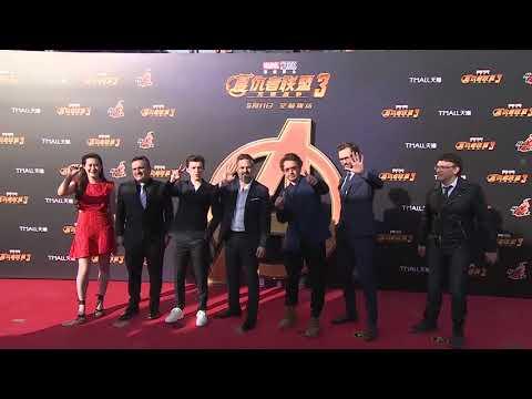 Avengers: Infinity War: Shanghai Red Carpet Group Photo