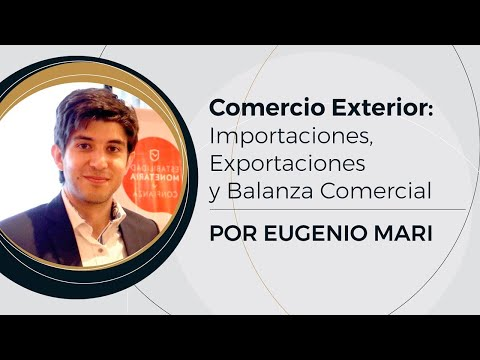 Comercio Exterior, Importaciones y Exportaciones   Prof: Eugenio Mari (8/10)