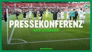 Bayer Leverkusen - Werder Bremen 1:3 | Pressekonferenz mit Peter Bosz & Florian Kohfeldt