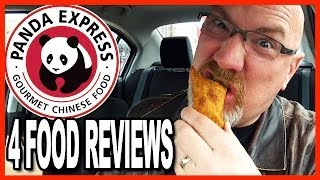 Panda Express  Sesame Chicken, Seafood Delight, Eggroll and Cookie Review