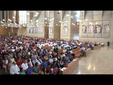 Mark Anchor Albert presentation for the Feast of Our Lady of the Angels, Queen of Heaven