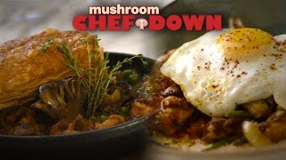 Maitake + Chicken Cook-off At Fig -  Mushroom Chef Down!