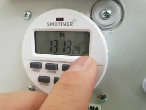 Sismist Iklimlendirme Zaman Programlayıcısı 08508852526