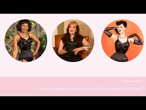 What Happens When You Stop Wearing a Corset?