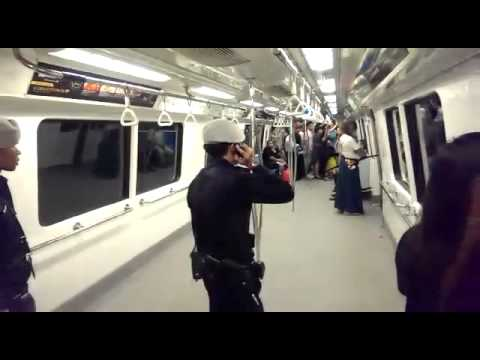 Man armed with sword seen at Dhoby Ghaut MRT station