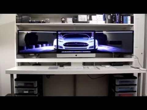 How I Built My Desk (Ikea Desk Hack)