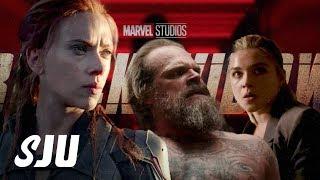 Let's Talk About That Black Widow Teaser Trailer!   SJU