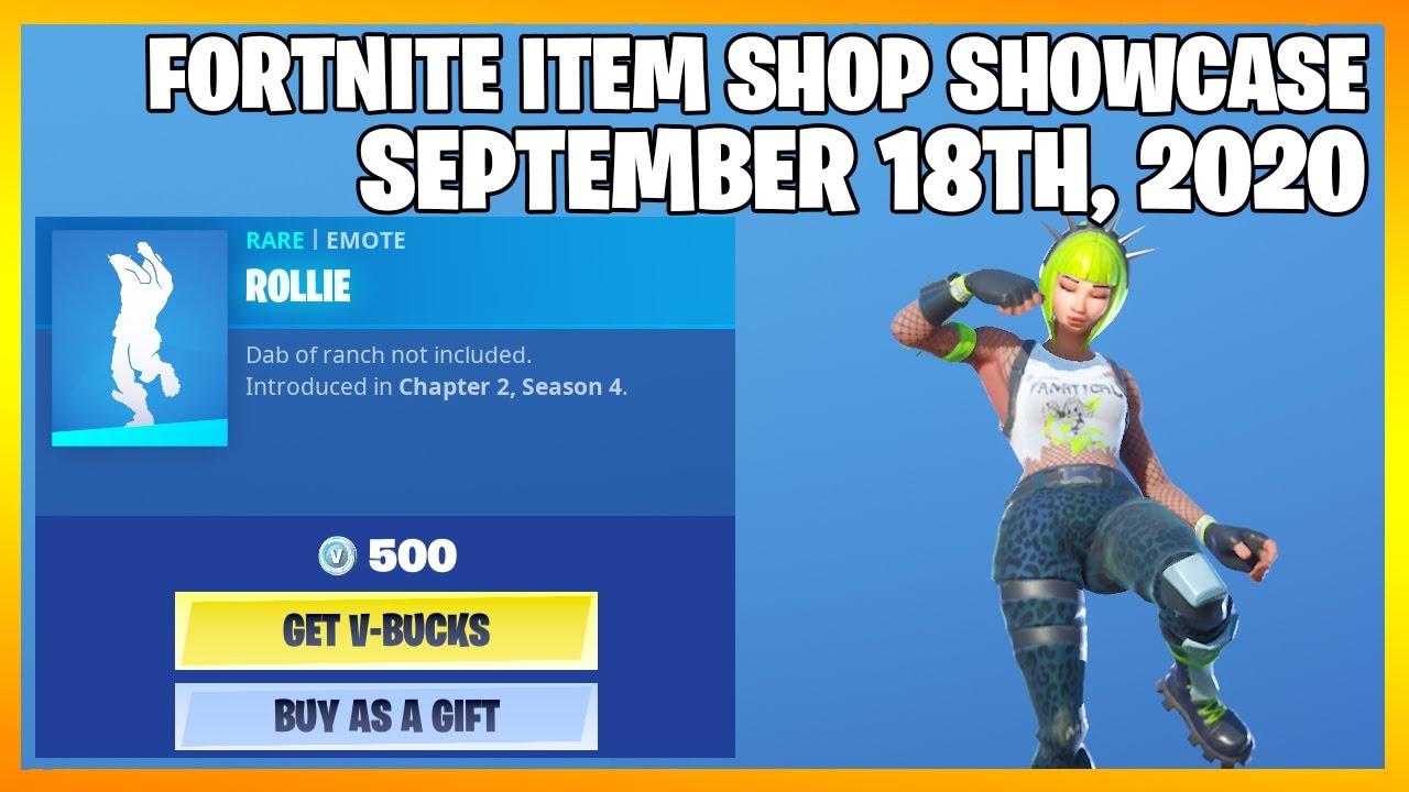 Fortnite Item Shop *2 NEW EMOTES!!* [September 18th, 2020] (Fortnite Battle Royale)