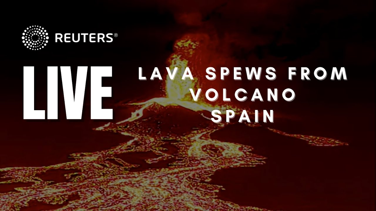 Download LIVE: Lava spews from volcano on Spain's La Palma island