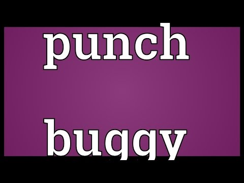 Punch buggy Meaning