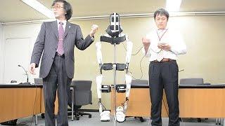 ロボスーツHALが医療機器として承認 装着型は国内初 thumbnail