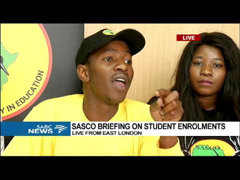 SASCO briefs students on enrollment procedures