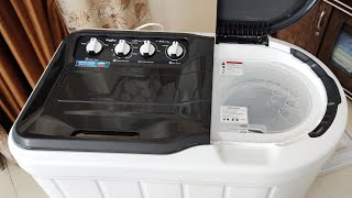 (HINDI) Unboxing & How to Use Whirlpool 7 kg Semi Automatic Washing Machine Superb Atom 70s