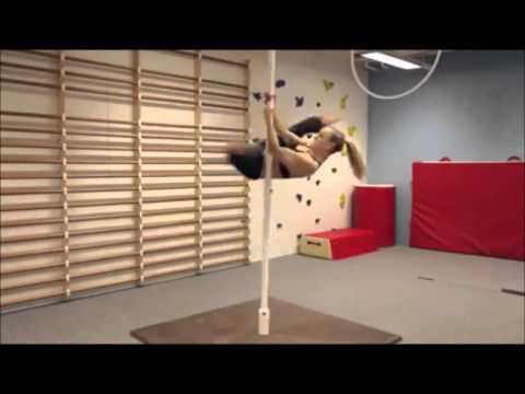 exercices pour ventre plat avec la gym pole danse