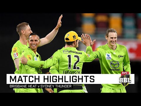 Thunder Stun Heat To Begin BBL Season With A Bang | KFC BBL|09