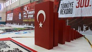 300,000 Dominoes - Turkish Domino Record - Bursa Domino Show 2016