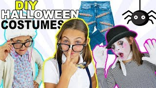 BEST DIY Halloween Costumes! Easy and Fun Last Minute Costumes For Kids