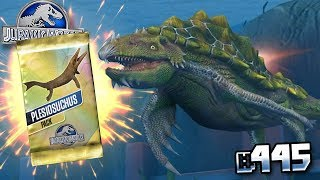 THE GREAT PLESIOSUCHUS TOURNAMENT !!! || Jurassic World - The Game - Ep 445 HD