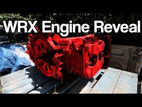 The NEW JDM ENGINE SWAP is here! | Subaru WRX Build