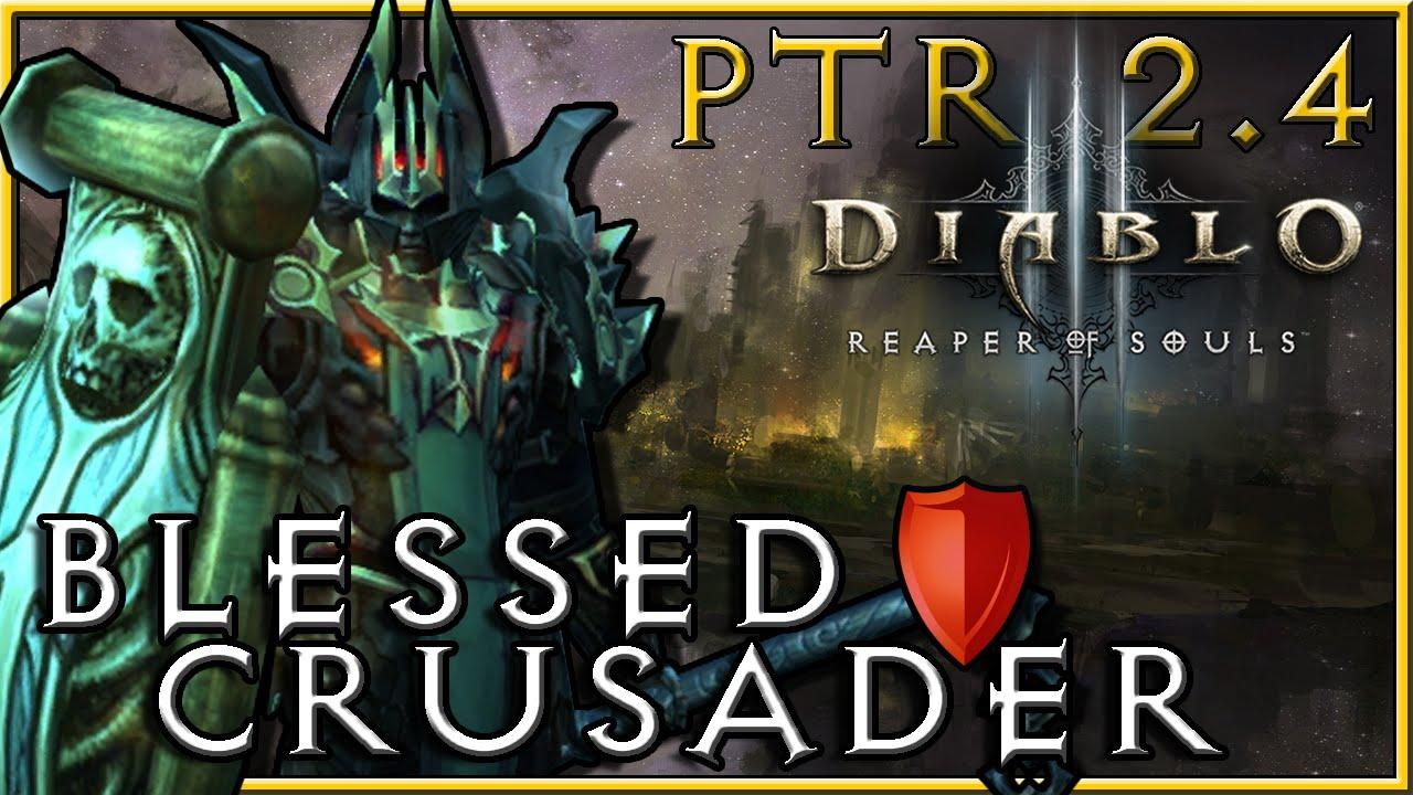 Diablo  Crusader Build Blessed Shield